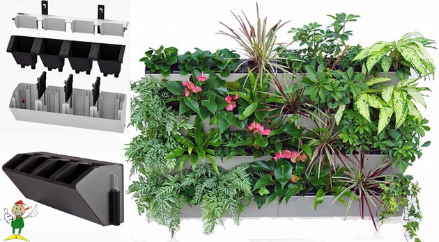 Verticale tuin for Verticale tuin systeem